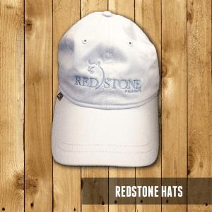 Redstone Hat (White/Light Blue)